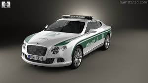 bentley dubai 360 view of bentley continental gt police dubai 2013 3d model