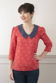 blouse patterns sew it susie blouse pdf sewing pattern sew it