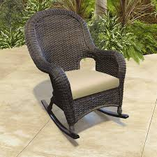 Outdoor Furniture Rocking Chair by Fancy Wicker Rocker Chair With Wicker Rocking Chair Wicker Rocking