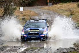 2017 rally subaru impressive drive sees hunt finish second at rally canterbury