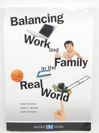 balancing work and family in the real world johnson and olsen