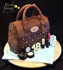 our latest creation handbag cake sticky sponge