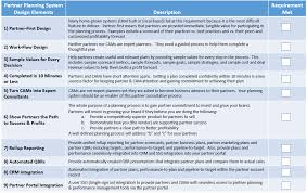 design expert 9 key partner planning system partner capabilities partner planning
