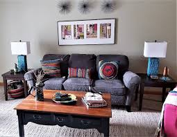 My Livingroom Boho Home My Living Room Creep Toward Midcentury Modern Boho Chic