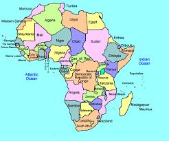 africa map study tribal primitive black