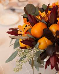 Fall Centerpieces With Feathers by 51 Rustic Fall Wedding Centerpieces Martha Stewart Weddings