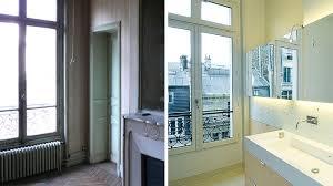 faire une salle de bain dans une chambre avant après transformer une chambre et un cabinet de toilette en