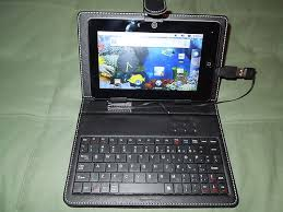 android tablets with keyboards ipads tablets ereaders android tablet bundle with leather