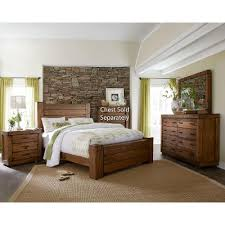 Driftwood Pine Piece Queen Bedroom Set Maverick RC Willey - Bedroom sets at rc willey
