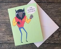 zombie michael jackson thriller birthday card