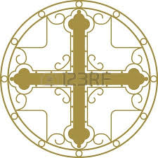 christian holy cross with ornament royalty free cliparts vectors