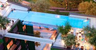 2 house with pool modern homes for mermaids 12 houses built around swimming pools