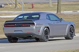 Dodge Challenger Srt - is this a test mule for the 2018 dodge challenger srt demon