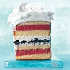 7 layer ice cream cake