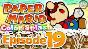 tiny goomba army paper mario color splash gameplay episode