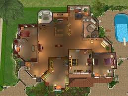mod the sims green apple estate a two story house with four