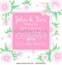 wedding day greetings happy wedding day greeting card template stock vector 1023956521