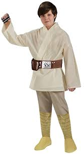 amazon com star wars child u0027s deluxe luke skywalker costume small