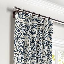 Navy Patterned Curtains Ideas Navy Blue Patterned Curtains Lovable And White Designs