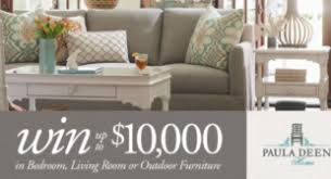 paula deen home win 10k in bedroom living room or outdoor