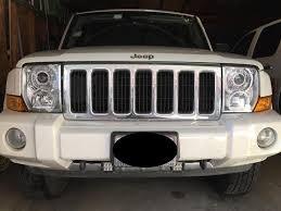 jeep commander black headlights 2006 2010 jeep commander projector retrofit hidprojectors
