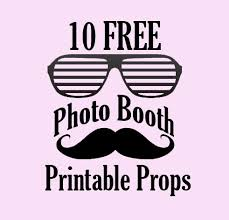 picture props 10 free photo booth prop printables bridalpulse