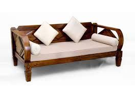 indonesian traditional daybed handcrafted of reclaimed wood