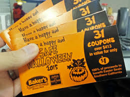 halloween city chino ca baker u0027s drive thru u0027s safe halloween coupon fundraiser helps