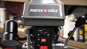Woodworking Bench Top Drill Press Reviews by Porter Cable Drill Press Review For The Farm Youtube