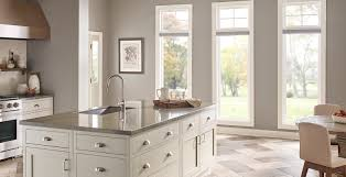 kitchens with light gray kitchen cabinets gray kitchen ideas and inspirational paint colors behr