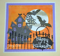halloween dies jen u0027s paper obsession october 2015