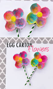 egg carton flowers i heart arts n crafts