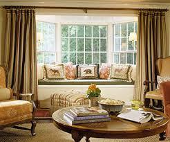 Kitchen Bay Window Curtains by Four Bay Window Treatment Ideas That Work Bay Window Treatments