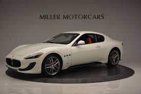 new maserati coupe 2017 maserati granturismo sport stock m1635 for sale near