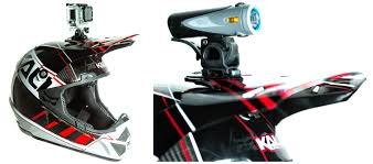 gopro motocross helmet mount world u0027s lightest dot helmet now shipping kali shiva gets