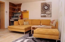 Wohnzimmer Orange Wohnzimmer Mit Büro Thurnerschlag Pröll Wohnideen