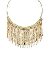bib necklace gold images Fringe necklace tassel necklace white gold bib choker jpg