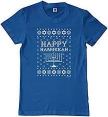 hanukkah t shirts threadrock big boys happy hanukkah sweater