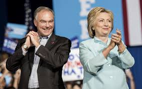 hillary clinton and tim kaine have written a deplorable campaign