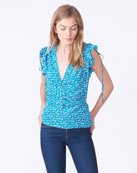 turquoise blouse costa blouse by beard