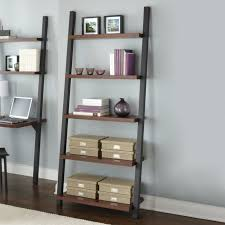 furniture home contemporary leaning bookcase bookcase ideas
