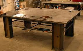 diy welding table plans diy welding table plans thelt co