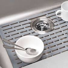 Kitchen Awesome Kitchen Sink Racks Sink Saver Mat Sink Bottom by Metal Sink Protector Mats Tags Contemporary Kitchen Sink