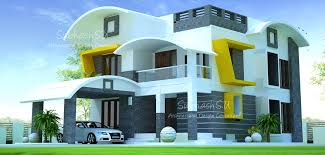 2000 square feet double floor contemporary home designs
