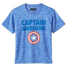4 6y marvel captain america captain awesome boys t
