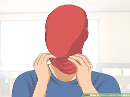 spider man mask 14 steps pictures wikihow