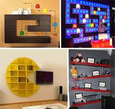 video game themed bedroom kids video game themed rooms kids videos pac man and book shelves