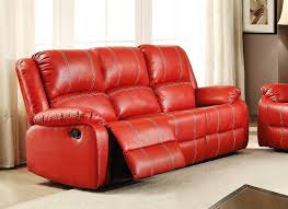 faux leather reclining loveseat with console u2014 dennis homes