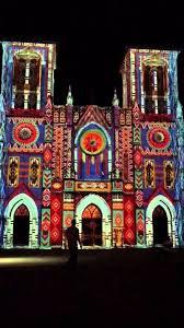 san fernando cathedral light show st fernando cathedral light show youtube