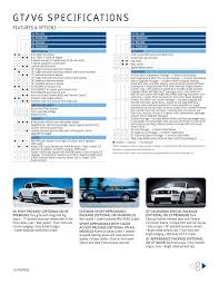 2007 ford mustang brochure